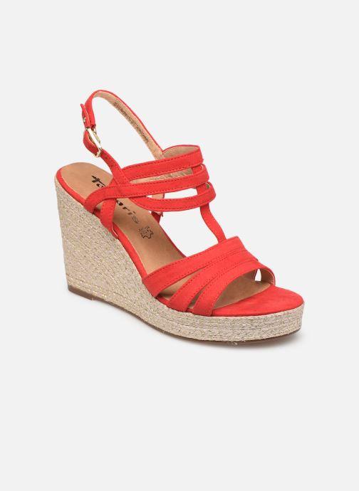 pieds Sandales Thais Nu rouge Chez Tamaris Et Xn64xqwwS