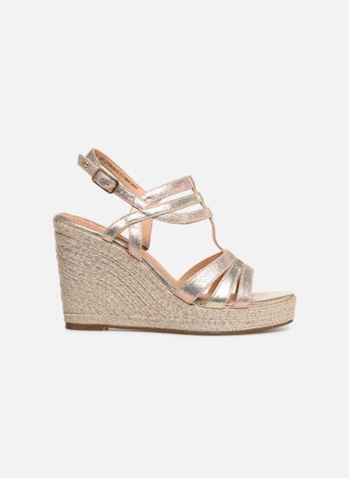 Sandales et nu-pieds Tamaris Thais Or et bronze vue derrière