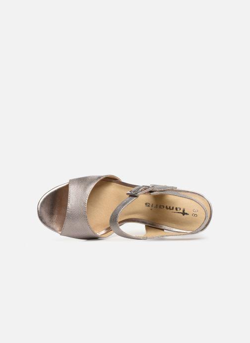 Et Tamaris Metalic pieds Sandales Nu Susanne Rose TiOwPZXku