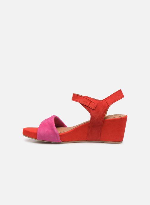 Sandales et nu-pieds Tamaris Ursula Rouge vue face