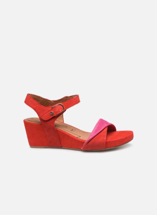 Sandales et nu-pieds Tamaris Ursula Rouge vue derrière