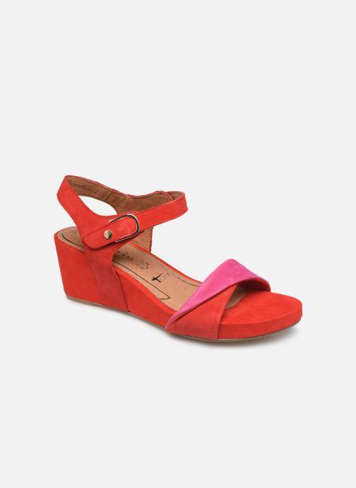 Sandales et nu-pieds Tamaris Ursula Rouge vue détail/paire