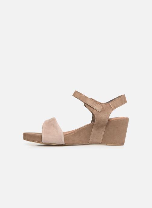 Sandales et nu-pieds Tamaris Ursula Marron vue face