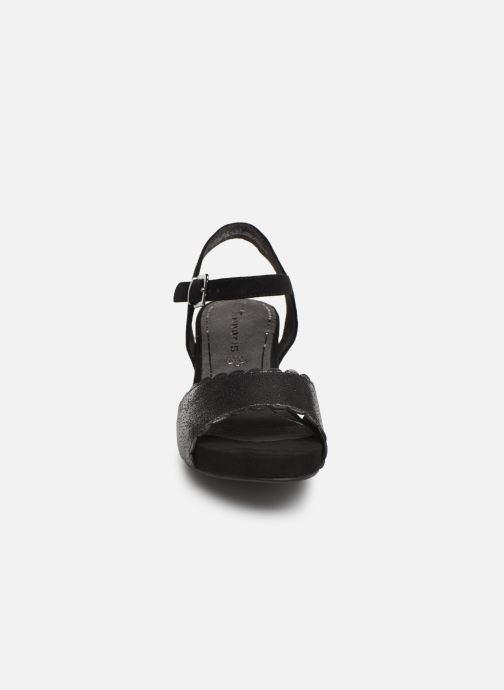 Sandales et nu-pieds Tamaris Vivienne Noir vue portées chaussures