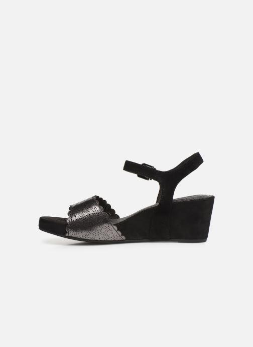 Sandales et nu-pieds Tamaris Vivienne Noir vue face