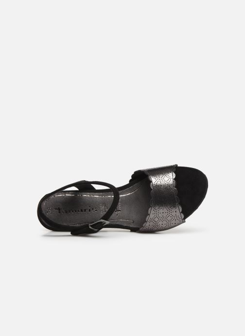 Sandals Tamaris Vivienne Black view from the left