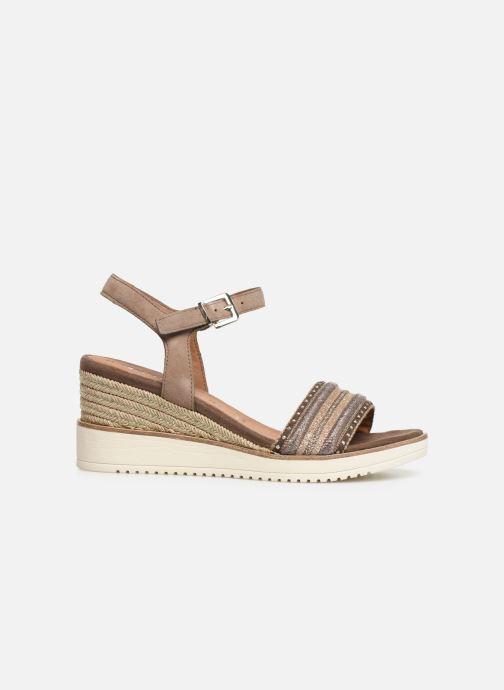 Sandales et nu-pieds Tamaris Zita Marron vue derrière