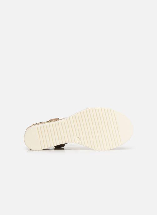 Sandali e scarpe aperte Tamaris Zita Marrone immagine dall'alto
