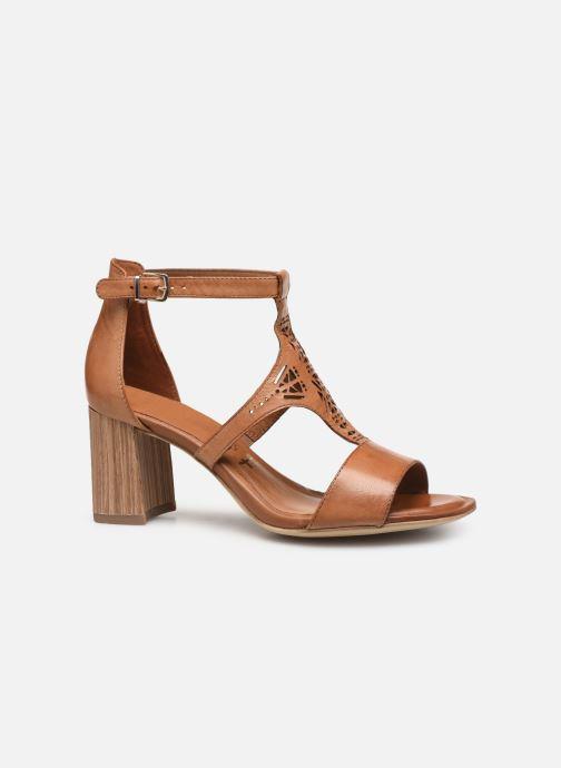 Sandales et nu-pieds Tamaris Alba Marron vue derrière
