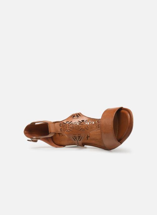 Sandales et nu-pieds Tamaris Alba Marron vue gauche