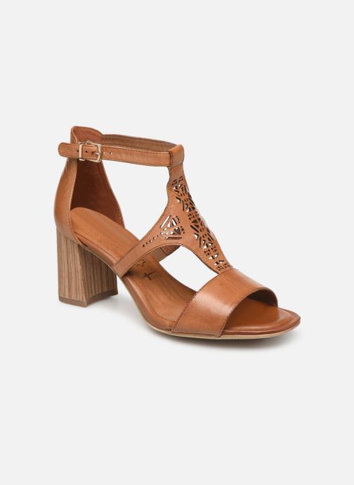 Sandales et nu-pieds Tamaris Alba Marron vue détail/paire