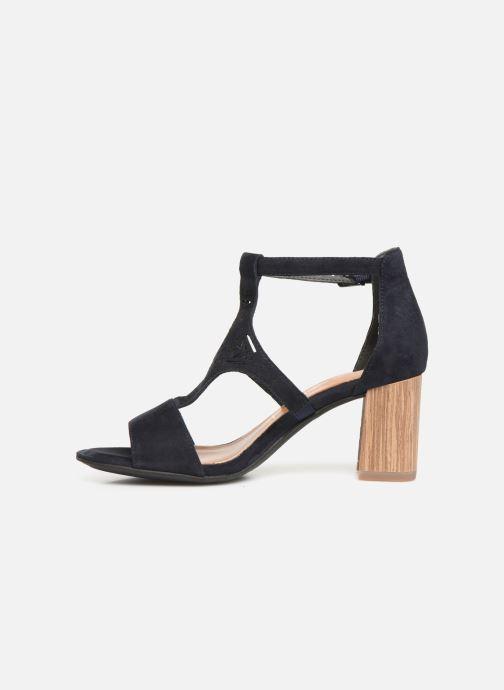 Sandales et nu-pieds Tamaris Alba Bleu vue face