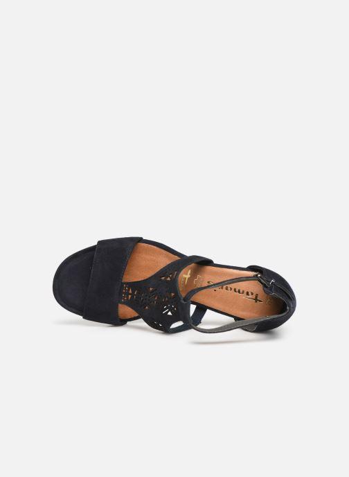 Sandales et nu-pieds Tamaris Alba Bleu vue gauche
