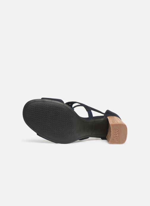 Sandales et nu-pieds Tamaris Alba Bleu vue haut