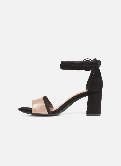 Sandales et nu-pieds Tamaris Blanca Noir vue face