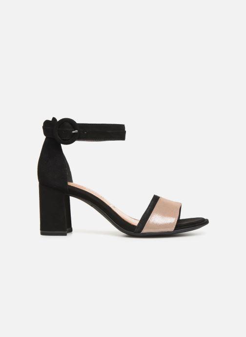 Sandales et nu-pieds Tamaris Blanca Noir vue derrière