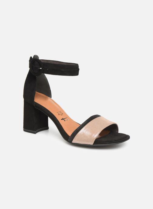 Sandales et nu-pieds Tamaris Blanca Noir vue détail/paire