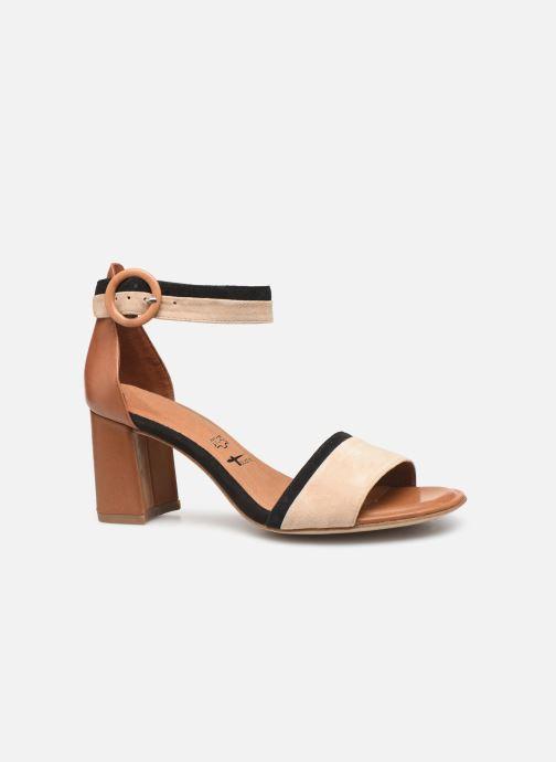 Sandales et nu-pieds Tamaris Blanca Marron vue derrière