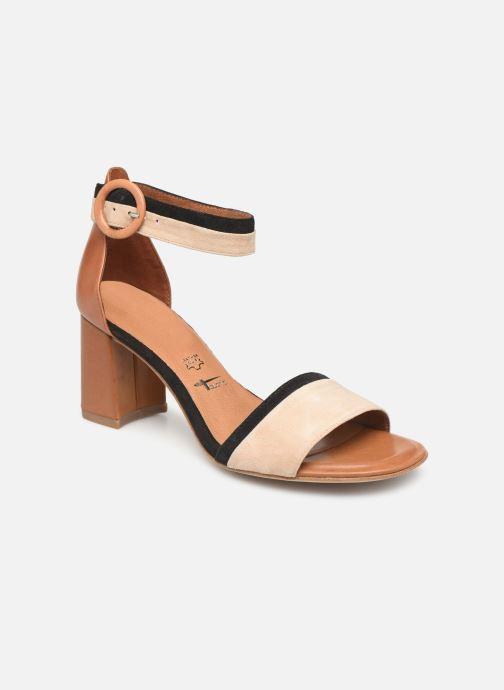 Sandales et nu-pieds Tamaris Blanca Marron vue détail/paire