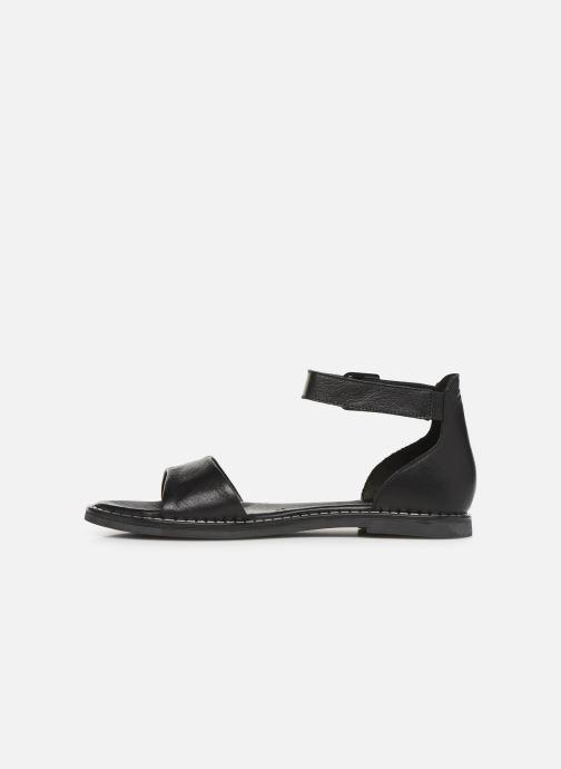 Sandales et nu-pieds Tamaris Catalina Noir vue face