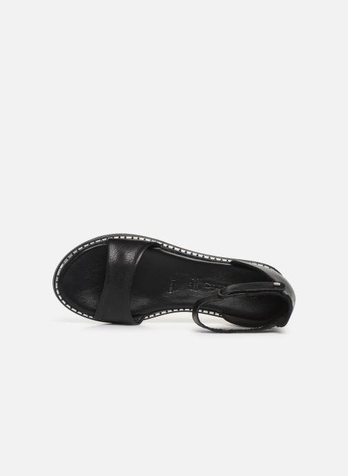 Sandales et nu-pieds Tamaris Catalina Noir vue gauche