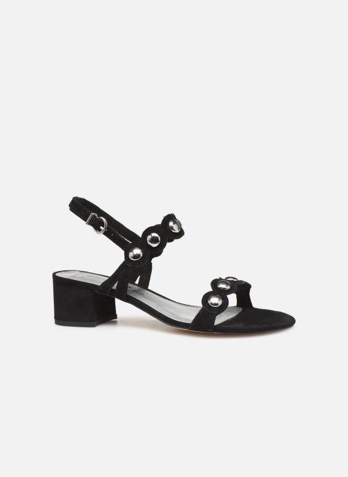 Sandales et nu-pieds Tamaris Dolores Noir vue derrière