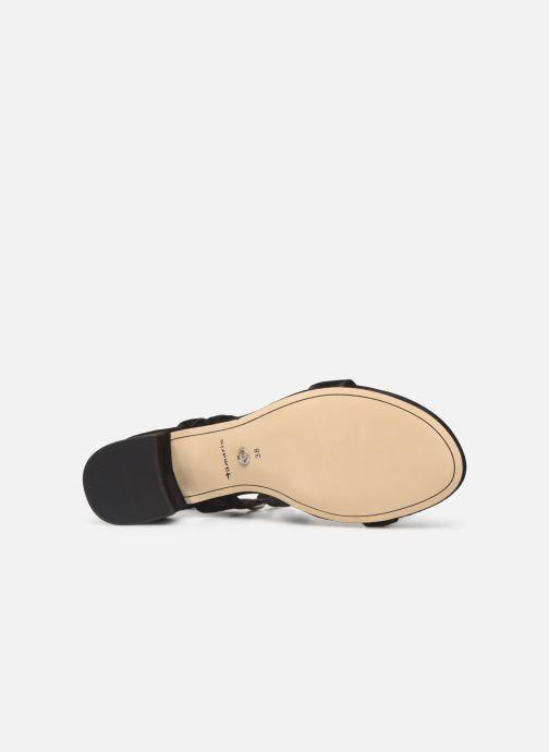 Sandales et nu-pieds Tamaris Dolores Noir vue haut