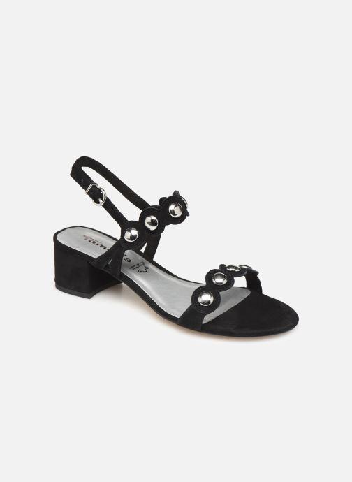 Sandales et nu-pieds Tamaris Dolores Noir vue détail/paire