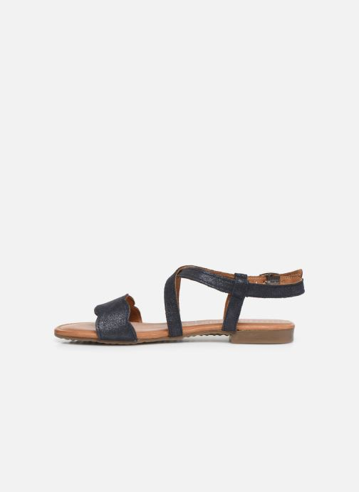 Sandales et nu-pieds Tamaris Juana Bleu vue face