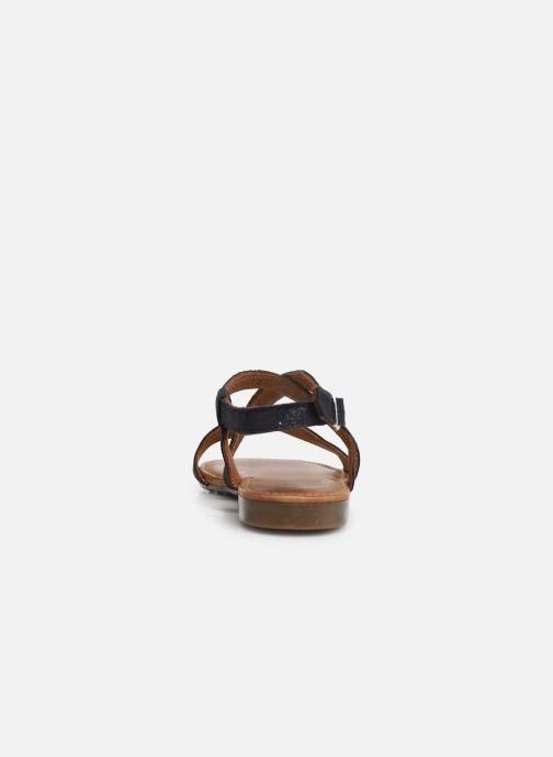 Sandales et nu-pieds Tamaris Juana Bleu vue droite