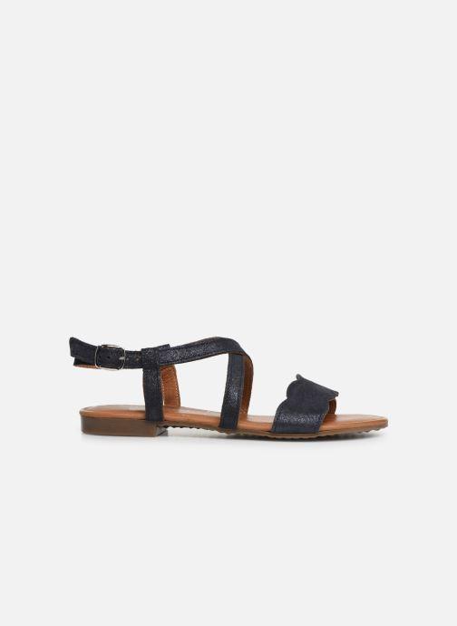 Sandales et nu-pieds Tamaris Juana Bleu vue derrière