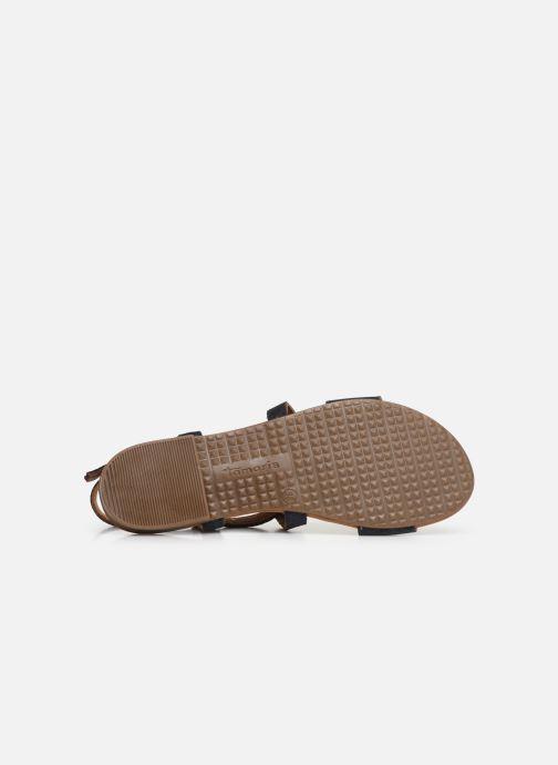 Sandales et nu-pieds Tamaris Juana Bleu vue haut