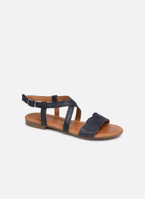 Sandales et nu-pieds Tamaris Juana Bleu vue détail/paire