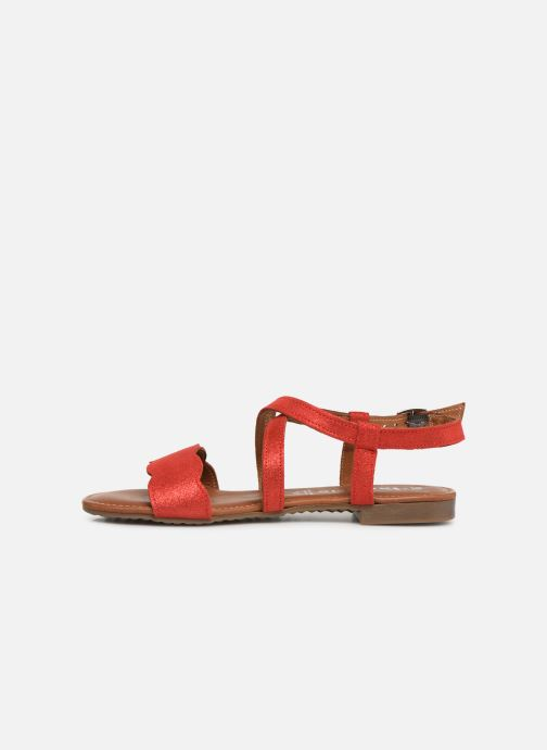 Sandales et nu-pieds Tamaris Juana Rouge vue face