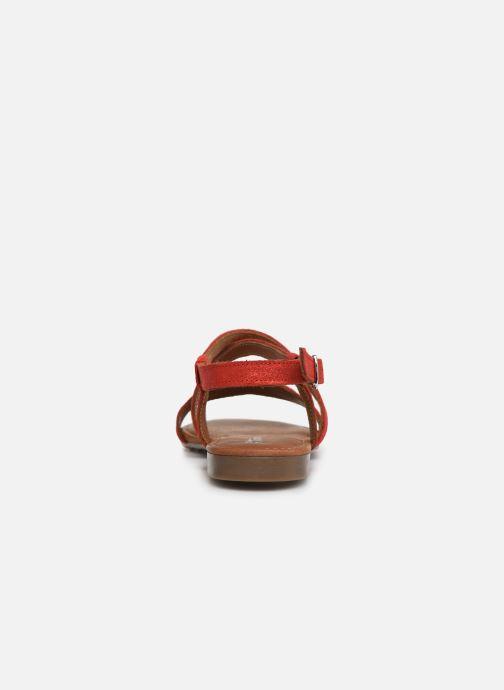 Sandales et nu-pieds Tamaris Juana Rouge vue droite