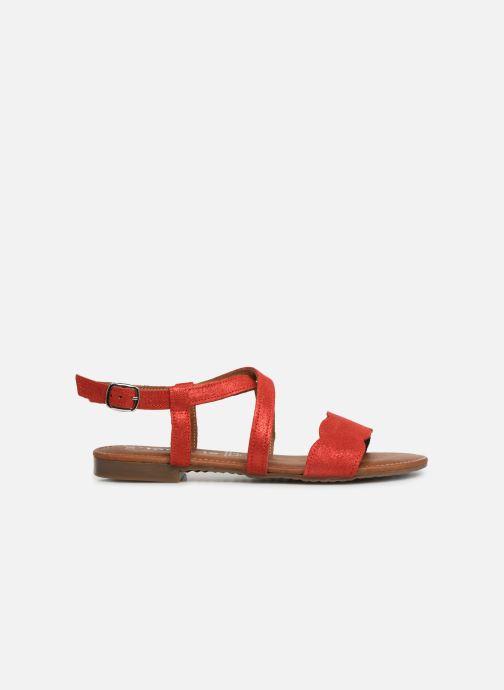 Sandales et nu-pieds Tamaris Juana Rouge vue derrière