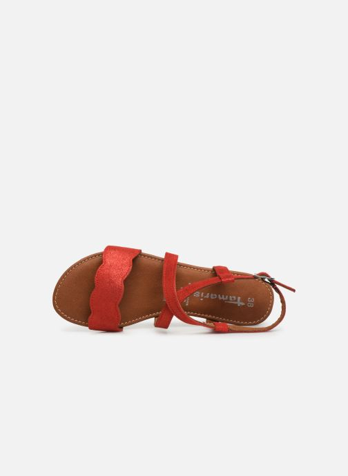 Sandales et nu-pieds Tamaris Juana Rouge vue gauche