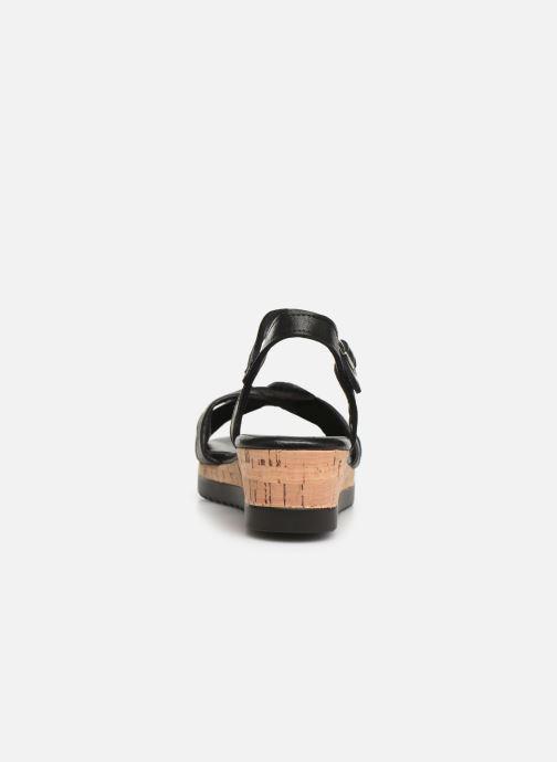Sandales et nu-pieds Tamaris Lara Noir vue droite