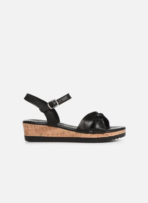 Sandales et nu-pieds Tamaris Lara Noir vue derrière