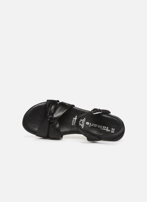 Sandales et nu-pieds Tamaris Lara Noir vue gauche