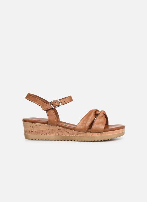 Sandales et nu-pieds Tamaris Lara Marron vue derrière