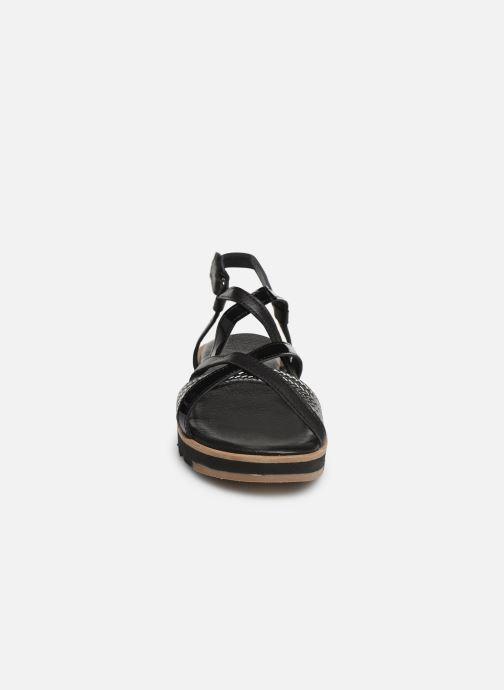 Sandales et nu-pieds Tamaris Liliana Noir vue portées chaussures