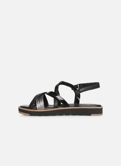 Sandales et nu-pieds Tamaris Liliana Noir vue face