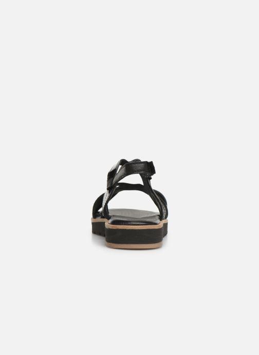 Sandales et nu-pieds Tamaris Liliana Noir vue droite
