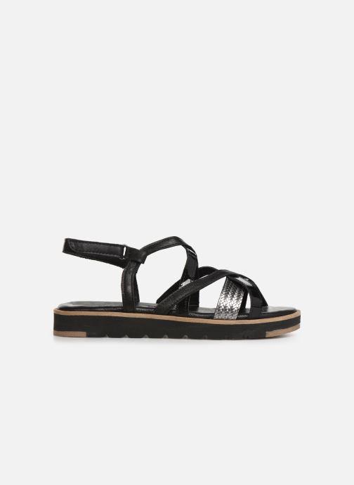 Sandales et nu-pieds Tamaris Liliana Noir vue derrière