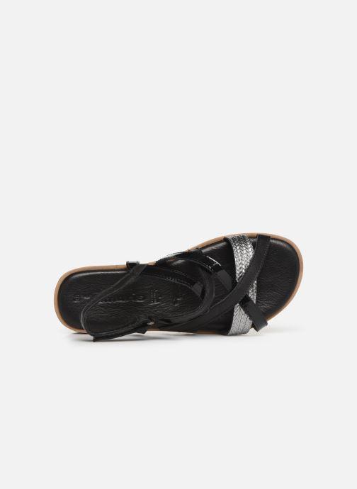 Sandales et nu-pieds Tamaris Liliana Noir vue gauche