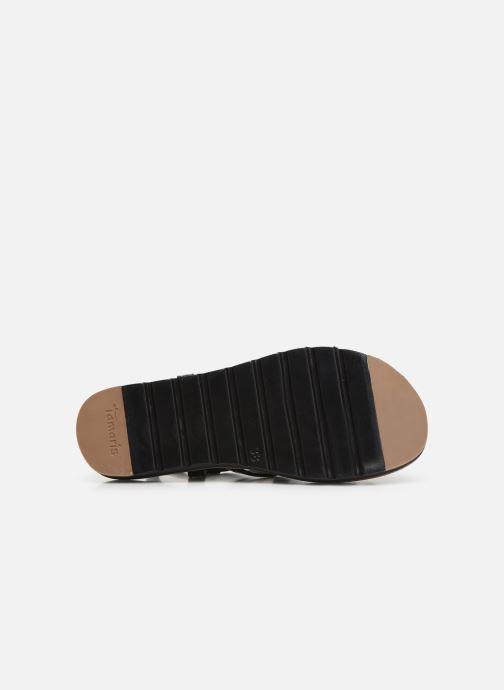 Sandales et nu-pieds Tamaris Liliana Noir vue haut