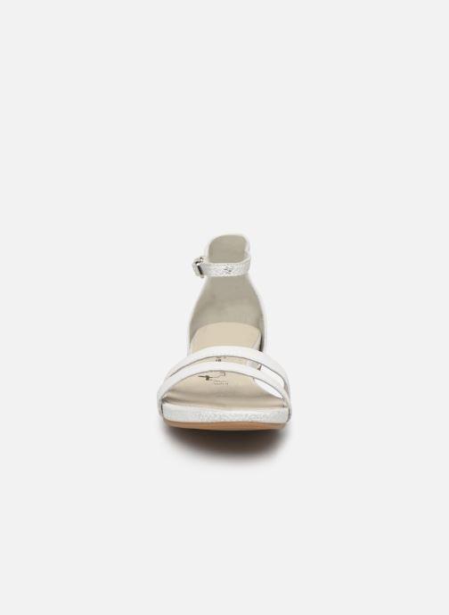 Sandales et nu-pieds Tamaris Micaela Blanc vue portées chaussures