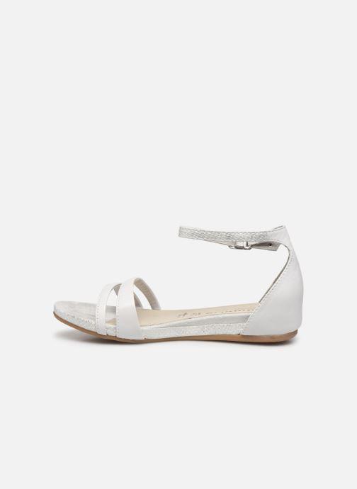 Sandales et nu-pieds Tamaris Micaela Blanc vue face