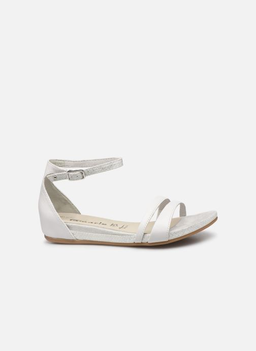Sandales et nu-pieds Tamaris Micaela Blanc vue derrière
